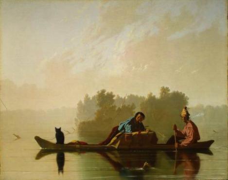 Bingham's Fur Traders Descending the Missouri